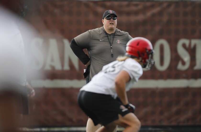 San Diego State defensive coordinator Kurt Mattix takes over one of the nation's top defenses.