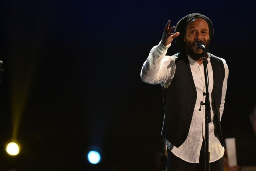 Reggae singer Ziggy Marley will perform at Humphreys Concerts by the Bay on June 12, 2017. (Getty Images)