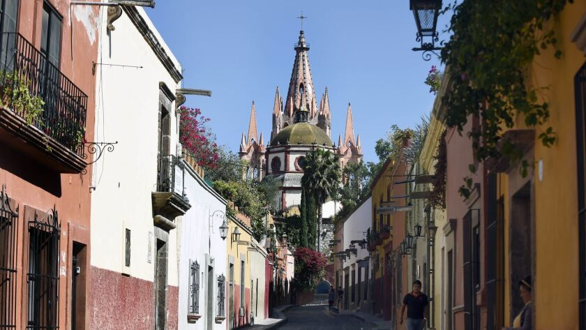 San Miguel de Allende in Mexico was named the best city in the world for the second year in a row by Travel + Leisure readers.