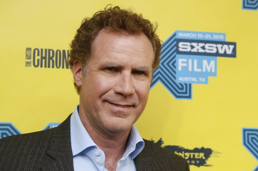 """FILE - In this Monday, March 16, 2015 file photo, Will Ferrell walks the red carpet for the world premiere of """"Get Hard."""""""