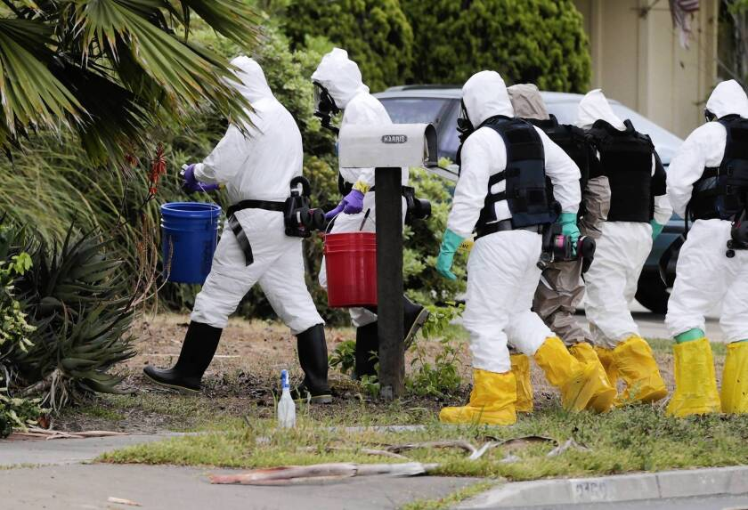 Costa Mesa man blew himself up, police believe