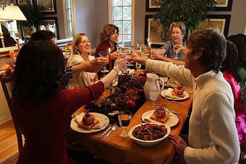 Food bloggers' Thanksgiving