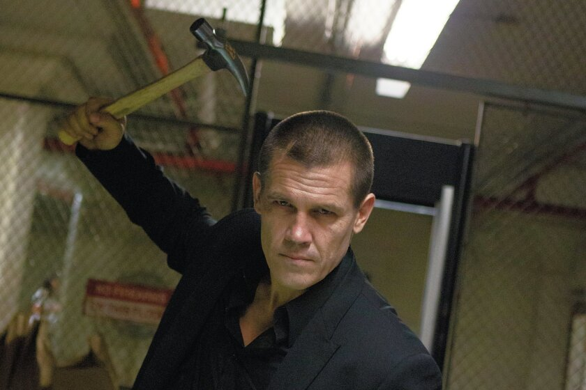 """Josh Brolin plays a man out for revenge in Spike Lee's remake of """"Oldboy."""""""
