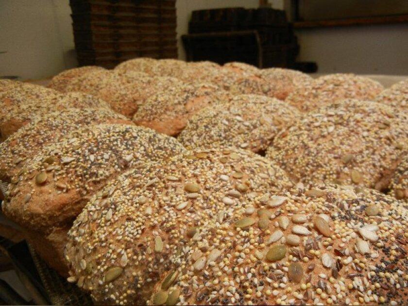 Loaves from Julian Bakery