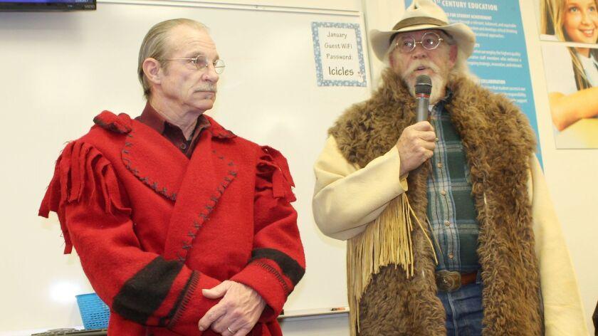 Ramona residents Steve Johnson and Jim Cooper.