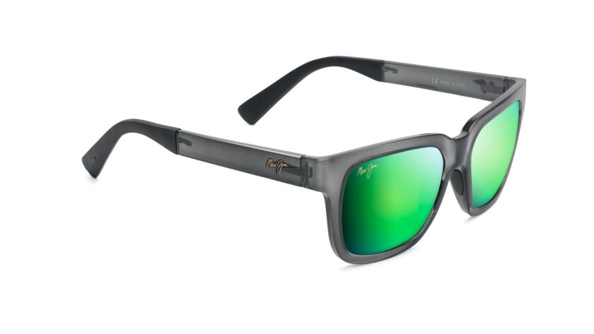 Maui Jim's Mongoose sunglasses shield eyes from UVA and UVB rays, and they come with neutral gray, B