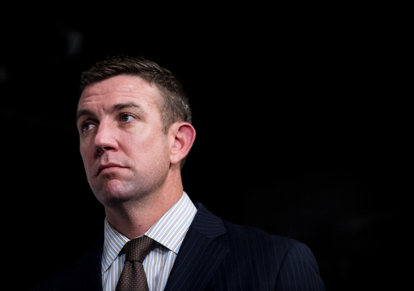 Rep. Duncan Hunter submits his resignation