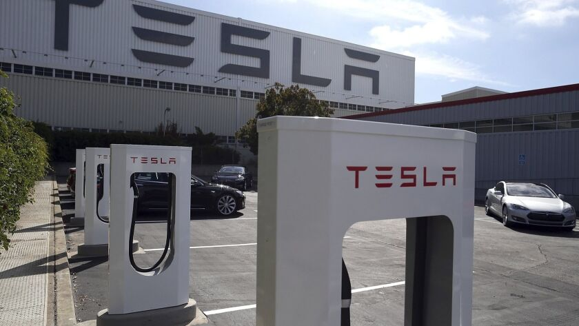 """Telsa Motors Opens New """"Supercharger"""" Station In Fremont, California"""
