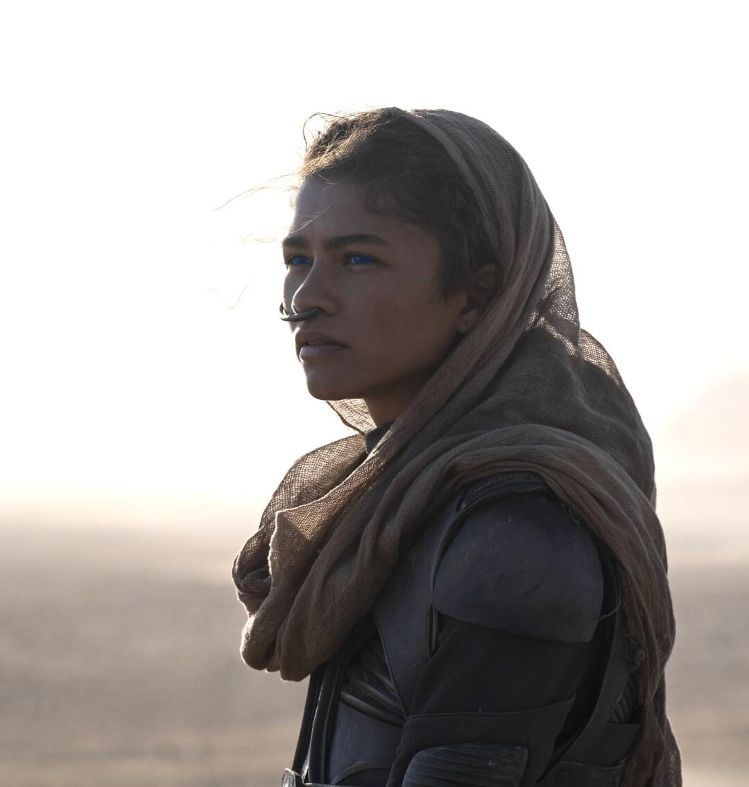 """Zendaya as Chani in """"Dune."""""""