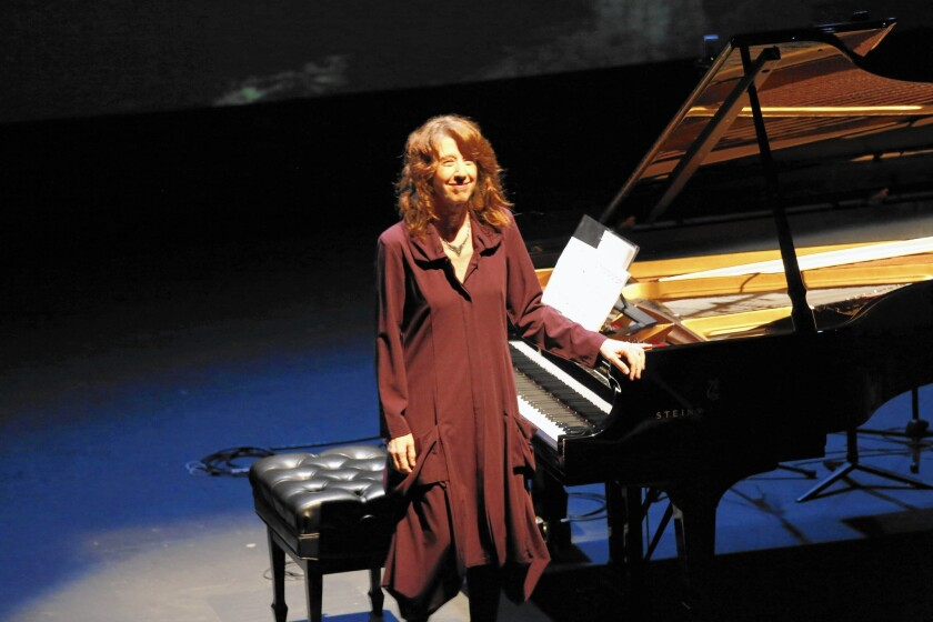Review: The natural elements prove a breeze for Vicki Ray's Piano Spheres recital at REDCAT