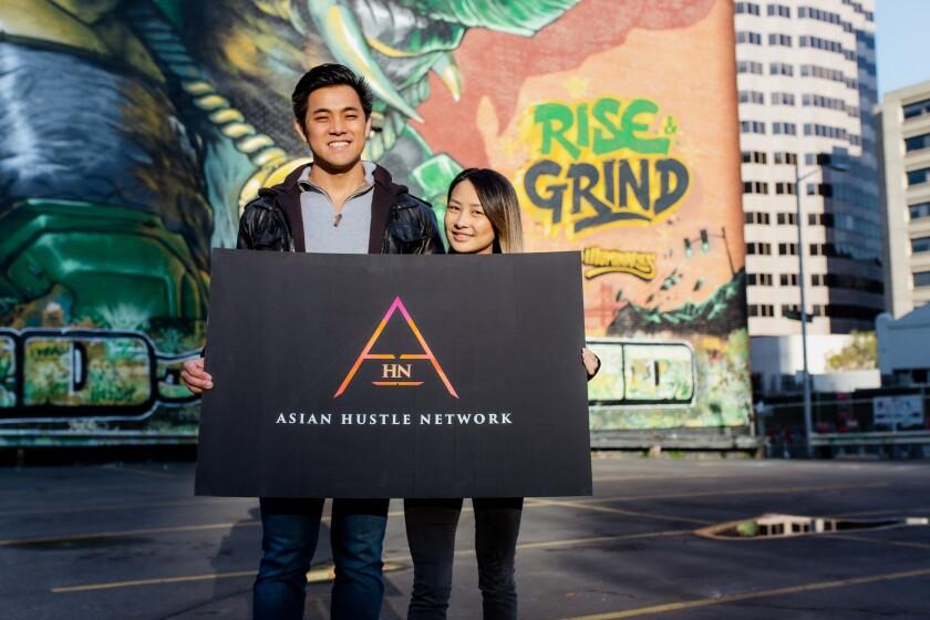 Bryan Pham and Maggie Chui