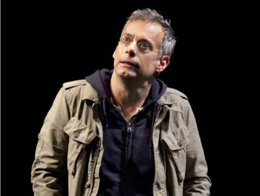 """Joe Mantello as Ned Weeks in """"The Normal Heart"""" on Broadway."""