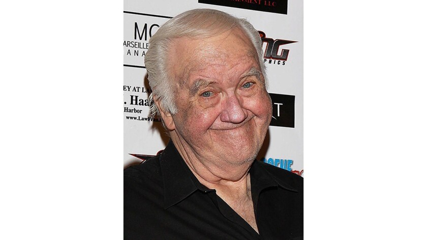 Actor and comedian Chuck McCann, shown in this September 2010 photo, has died at 83.