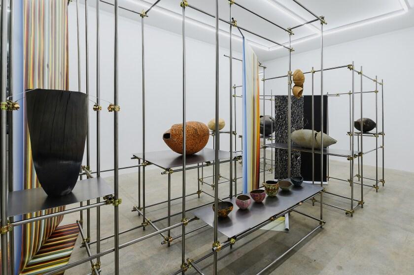 Installation view of Keita Matsunaga's show at Nonaka-Hill.