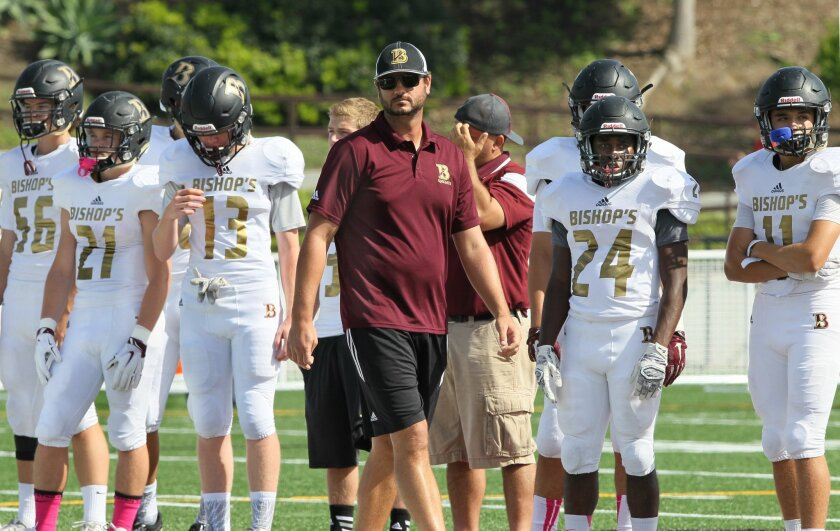 Joel Allen, previously head football coach at The Bishop's School in La Jolla, now has the same position at Point Loma High.
