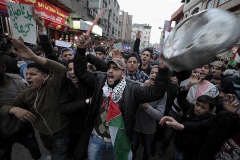 Estados Unidos suspendió hoy 45 millones de dólares en ayuda alimentaria que había prometido a la agencia de la ONU para los refugiados palestinos, después de anunciar el martes la congelación de 65 millones de su aportación al presupuesto regular. EFE/ARCHIVO