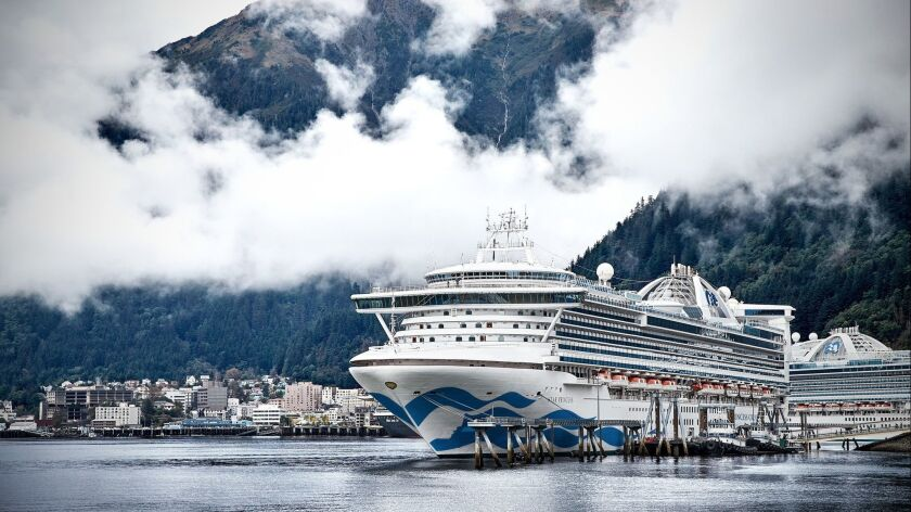 Star Princess in Alaska. Cruise ships will be plentiful in Alaska this summer, leading to lower pric