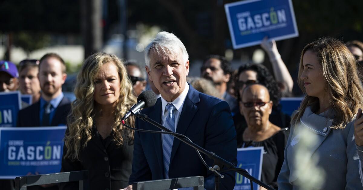 L. A. County Demokraten befürworten Gascón im Wettbewerb district attorney ' s Rennen