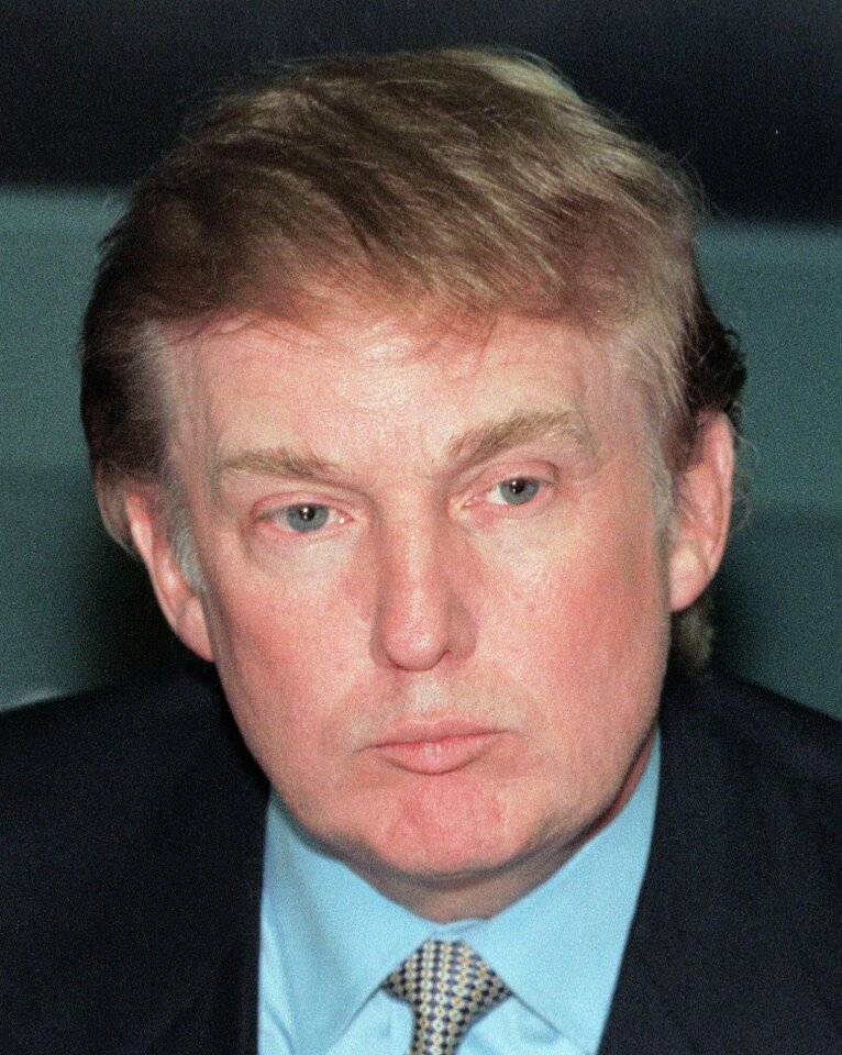 Donald Trump throughout the years