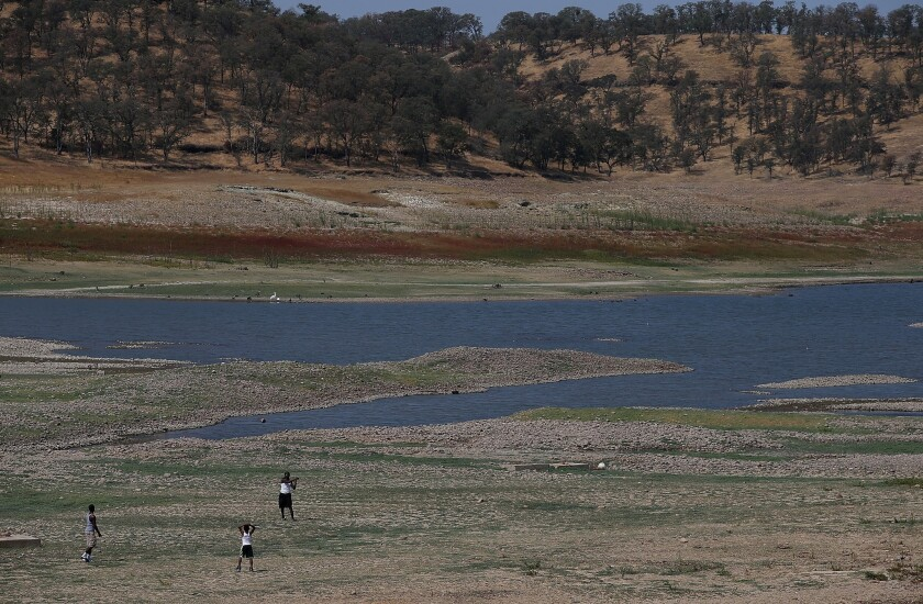 California's Dams And Reservoirs Depleted By Extreme Drought