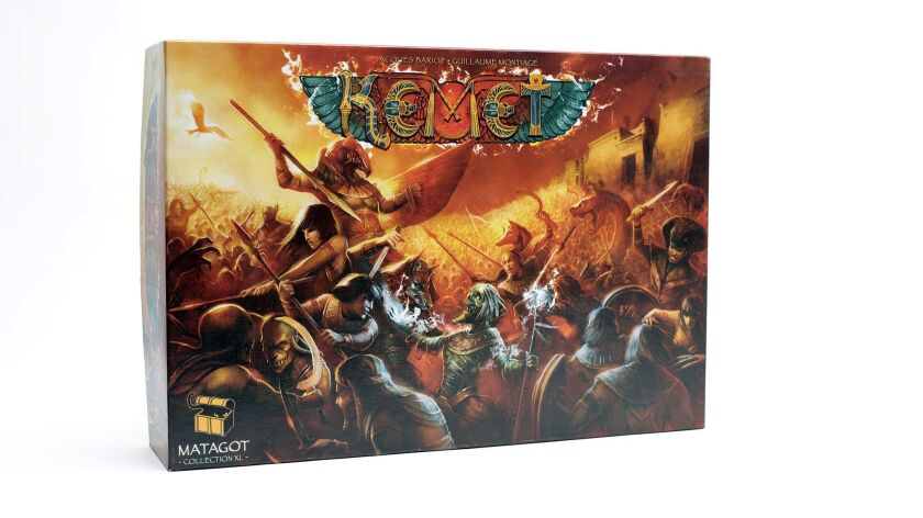 The board game, Kemet, for Home section story about board games. (Calvin B. Alagot / Los Angeles Tim