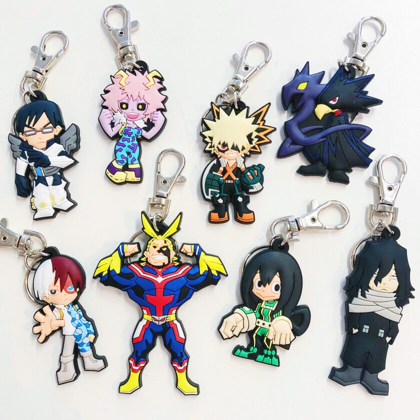 Anime key chains