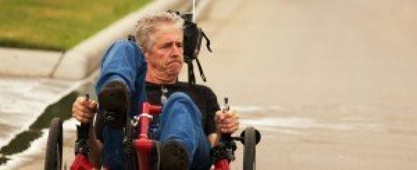 "Larry Smith is featured in the documentary ""Ride With Larry."" Courtesy photo"