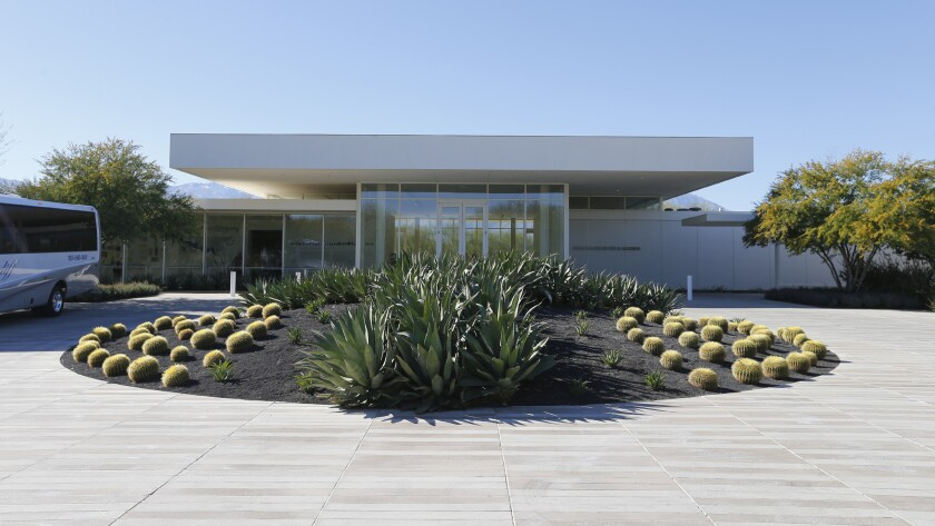 RANCHO MIRAGE, CALIF. --THURSDAY, JANUARY 28, 2016: Exterior view of the Sunnylands Center & Garde
