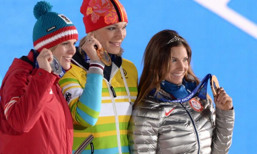 Sochi Olympics: Julia Mancuso displays her Gamesmanship, wins bronze