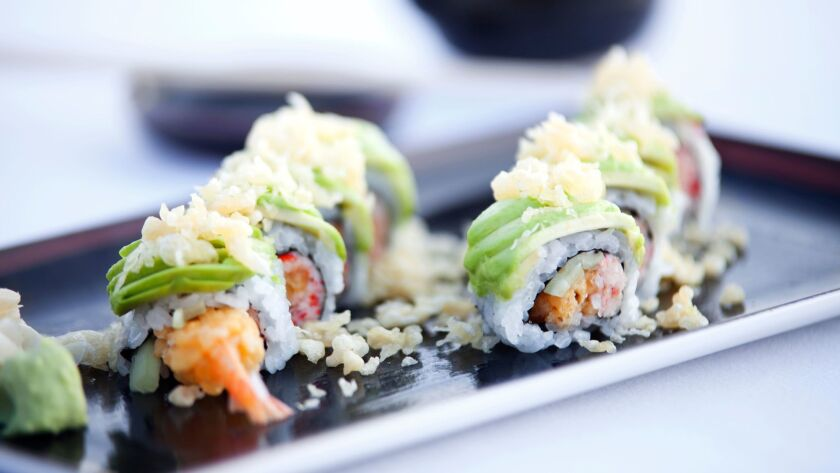 Crispy Shrimp Roll from Oceana Coastal Kitchen.