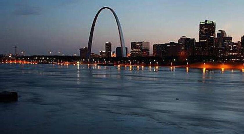 HIGH IMPACT: Eero Saarinen's Gateway Arch in St. Louis possesses steely, leaping aesthetic power.