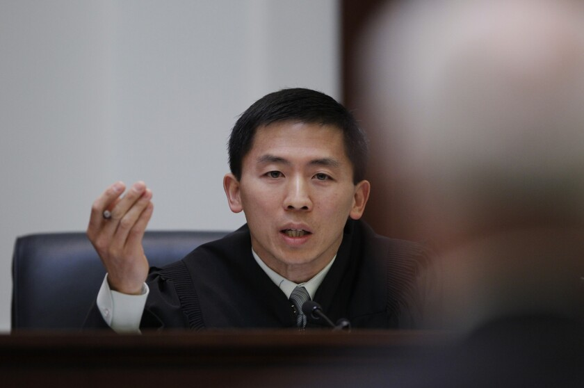 California Supreme Court Justice Goodwin Liu, seen here in 2012, wrote for the court on the decision regarding the disclosure of details involving abuses in government-run housing for the mentally ill and developmentally disabled.
