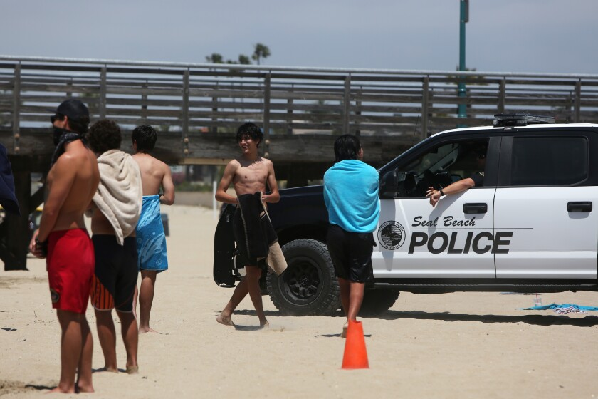 Seal Beach reopened to active use