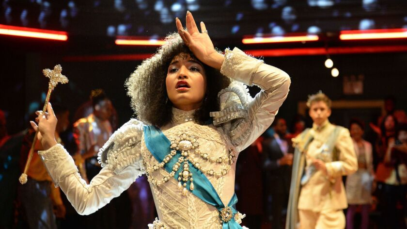 """Indya Moore as Angel in the FX show """"Pose."""" Costume designer Lou Eyrich and her team created the costumes for the Ryan Murphy drama."""