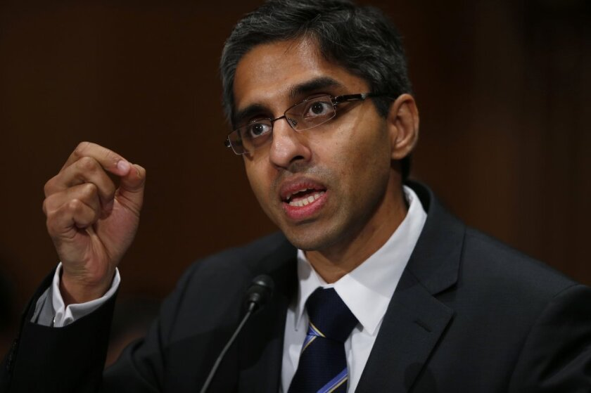 Dr. Vivek Murthy, an internal medicine specialist and attending physician at Boston's Brigham & Womens Hospital, has been approved as the nation's 19th surgeon general.