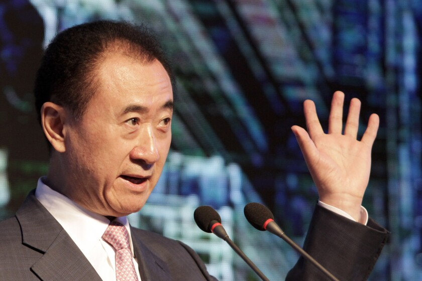 Billionaire Wang Jianlin, the chairman of Dalian Wanda Group, has set his sights on Hollywood in recent years with the acquisition of several entertainment companies.