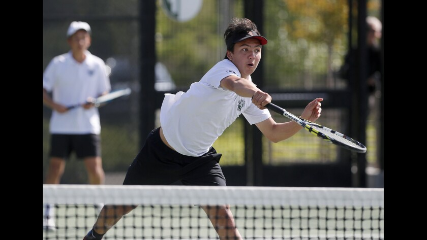 Photo Gallery: Sage Hill vs. Chino Hills Ayala in boys' tennis