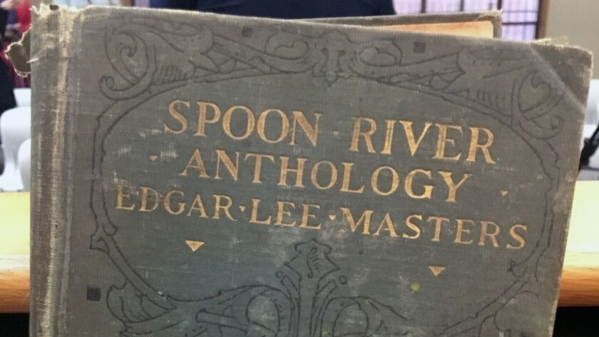 "This undated photo shows ""Spoon River Anthology"" by Edgar Lee Masters. The family of Margaret Eubank"