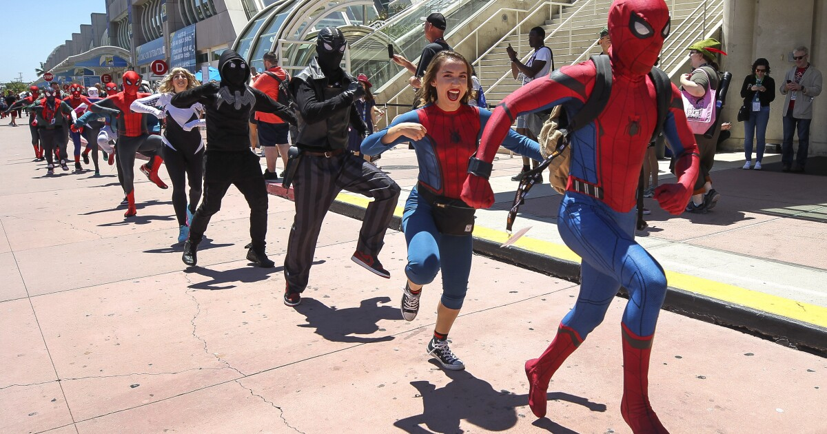 At Comic-Con 2019, Marvel — not movies — is the main attraction