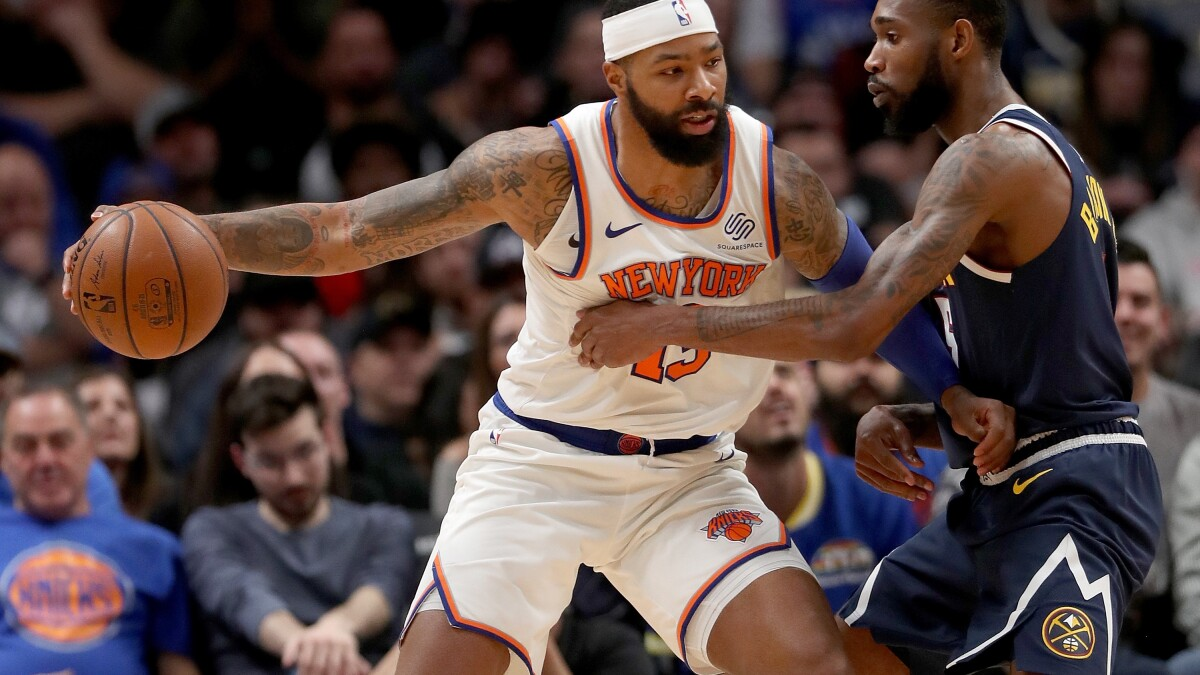 Clippers Continue Title Push By Acquiring Marcus Morris Los Angeles Times