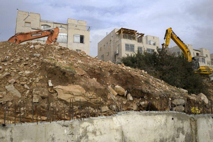 A Jewish settlement outside Jerusalem