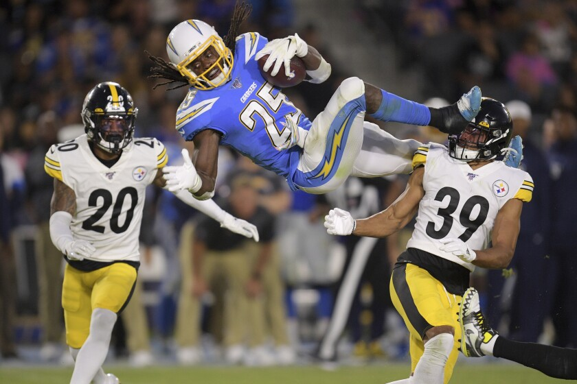 APTOPIX Steelers Chargers Football