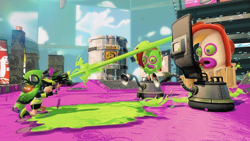 """Splatoon"" gets Nintendo into the shooter business, with squids"