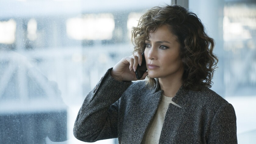 "Jennifer Lopez in ""Shades of Blue"" NBC."