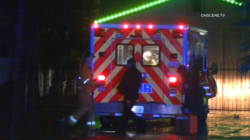 A man was shot and another man was injured during a robbery at a Chula Vista dispensary.