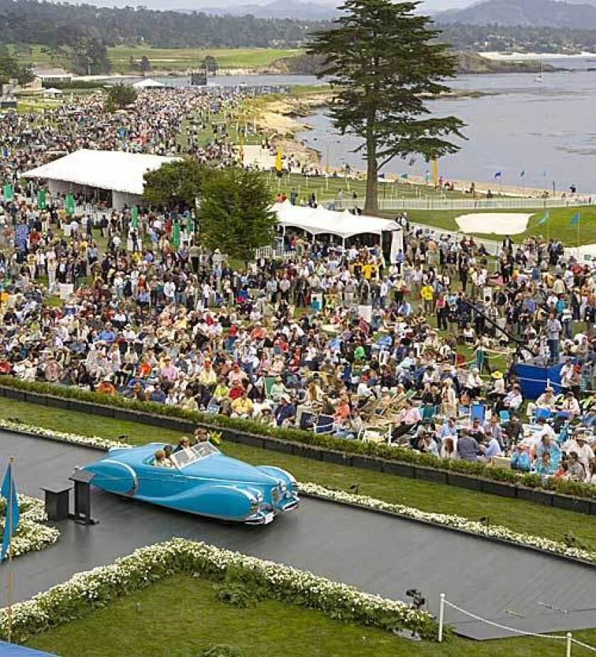 The attainable Pebble Beach and the Concours d'Elegance