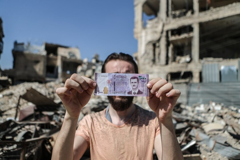 New Syrian banknotes