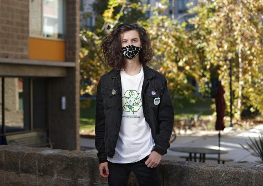 Philip Tajanko, an 18-year-old UC San Diego student