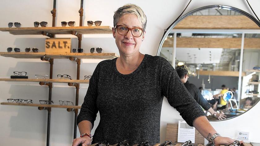 Laura Van Brunt is the owner of Van Brunt Optical Haus at the OC Mix.