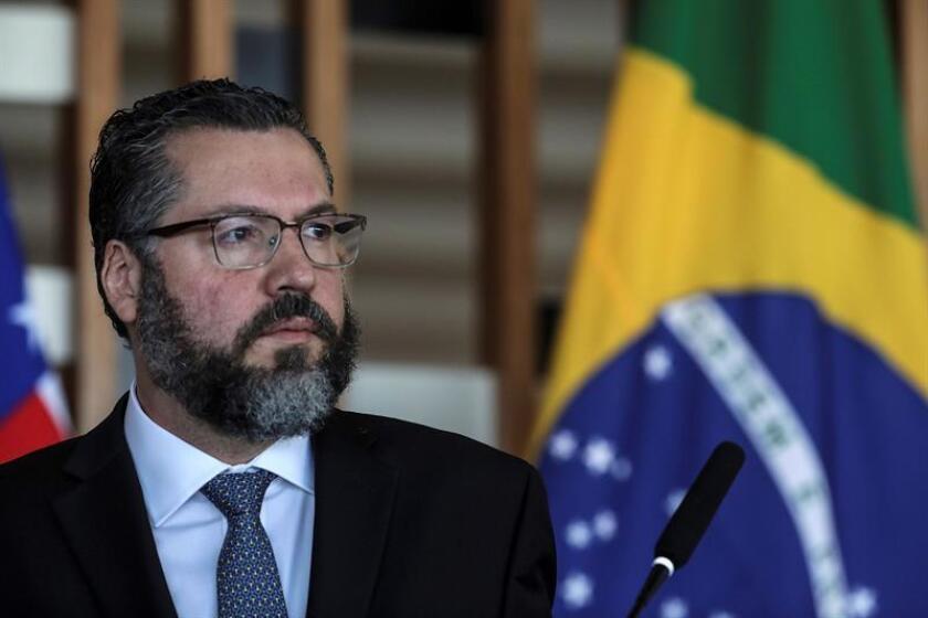 El canciller brasileño, Ernesto Araujo. EFE/Archivo